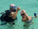 Gregg and Diane sandbar fun