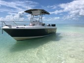 Make it so's boat at a sandbar
