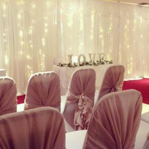 Starlight Backdrops and Table Skirts