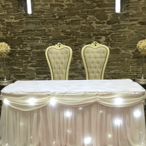 starlight backdrop & swags