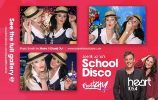 joel and lorna school disco