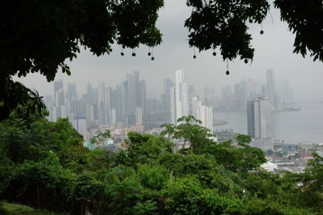 View of Panama City Skyline from Ancon Hill