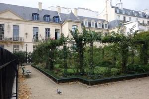 Enchanting Backgarden of Some Homes in Marais