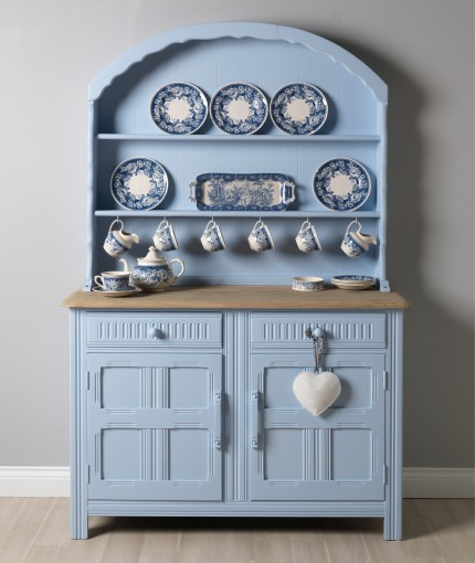 Chalky Finish Furniture Paint Powder Blue Welsh Dresser