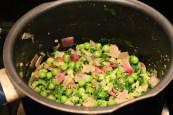 Add coriander & season