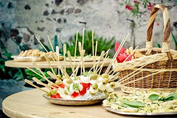 Σουβλάκια Λαχανικά Παιδικό Πάρτυ