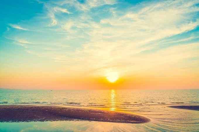 Ουρανός Ηλιοβασίλεμα καλοκαίρι