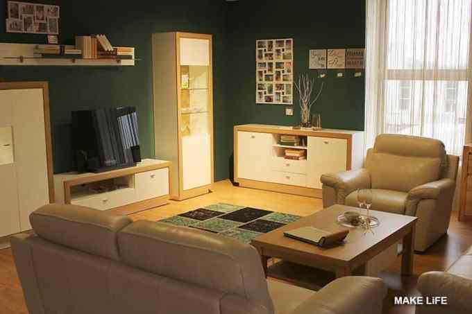 green colour for living room - Τι χρώμα να βάψω τους τοίχους στο σαλόνι; 5 προτάσεις & ιδέες