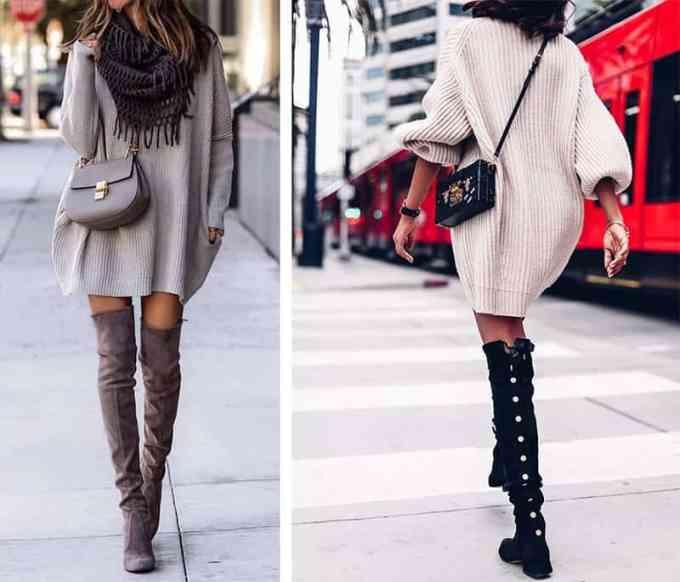 Φόρα το πουλόβερ ως φόρεμα