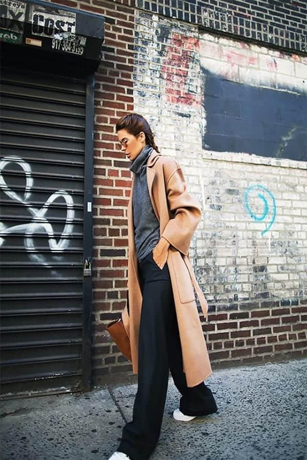 Πως να φορέσεις το μακρύ παλτό