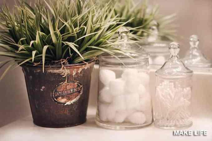 PLANTS IN THE BATHROOM - 7 ιδέες για την ανανέωση του μπάνιου με ελάχιστα χρήματα
