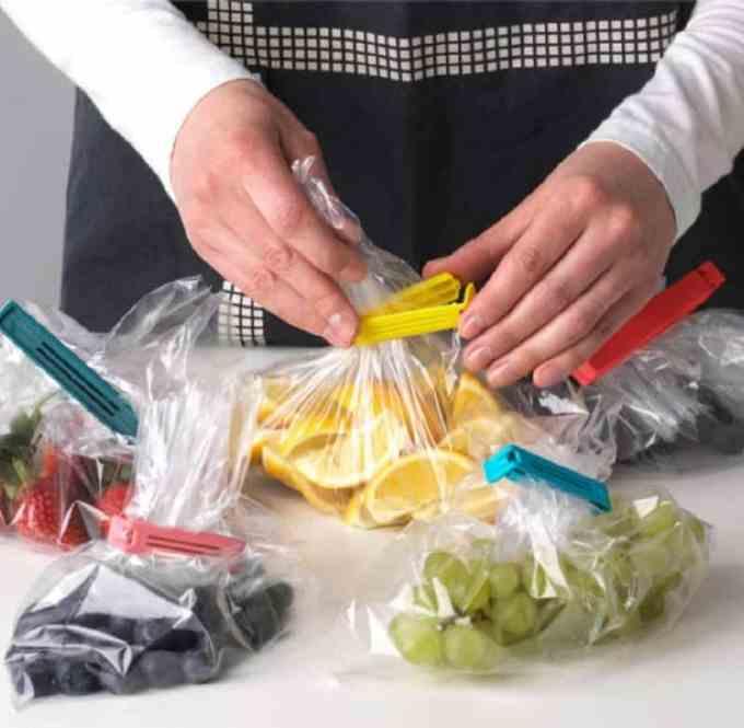Bevara Sealing clip - Οργάνωση κουζίνας: 8 αντικείμενα ΙΚΕΑ που πρέπει να έχεις