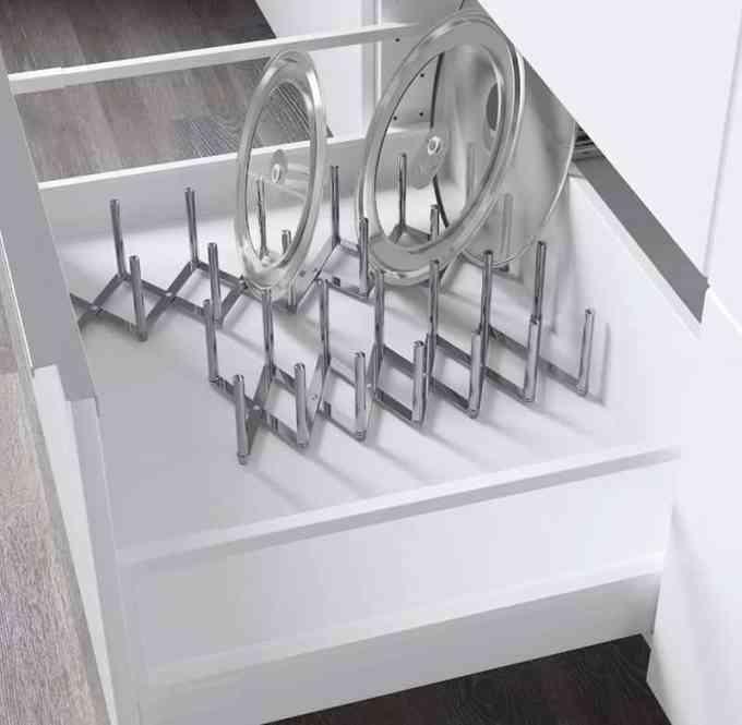 Οργάνωσε την κουζίνα και τα ντουλάπια της