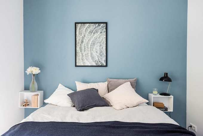 "blue bedroom decoration tips - Τα ""Ναι"" και τα ""Όχι"" στη διακόσμηση της κρεβατοκάμαρας"