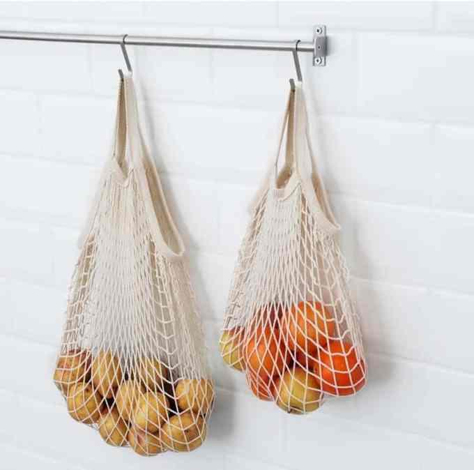 net bags KUNGSFORS - Οργάνωση κουζίνας: 8 αντικείμενα ΙΚΕΑ που πρέπει να έχεις