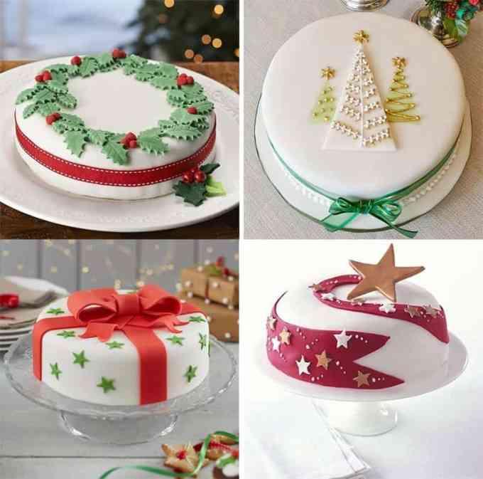 CHRISTMAS CAKE DECORATION 2 - Σχέδια και ιδέες για τη διακόσμηση της βασιλόπιτας