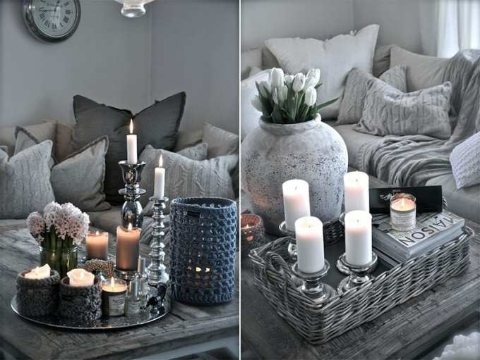 coffee table decoration 3 - Πως να διακοσμήσεις το τραπεζάκι σαλονιού με 4 απλές κινήσεις