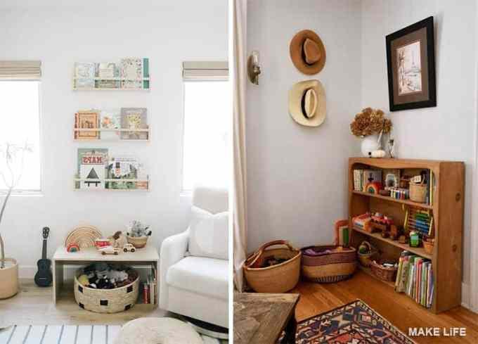 Κάνε το χώρο σου πιο λειτουργικό: αποθήκευση παιχνιδιών στο σαλόνι