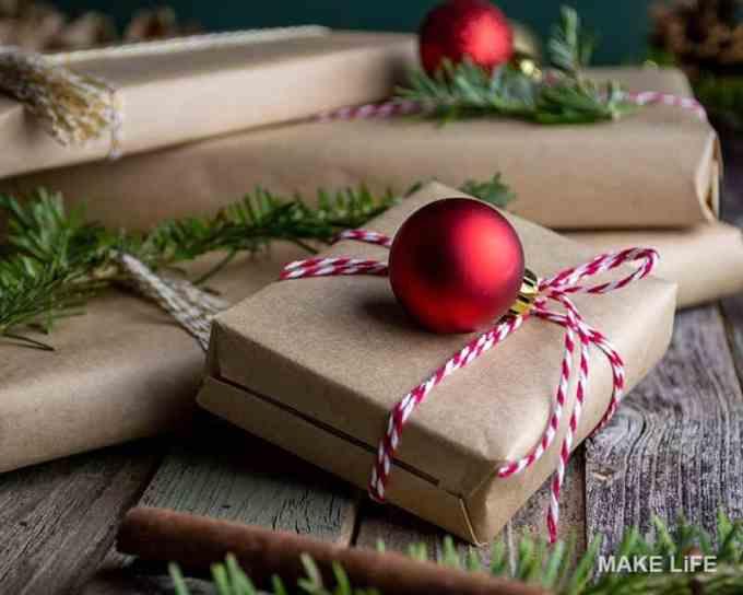 GIFT WRAP IDEAS 4 - Πως να τυλίξεις ένα δώρο. 6 τρόποι για το χριστουγεννιάτικο αμπαλάζ