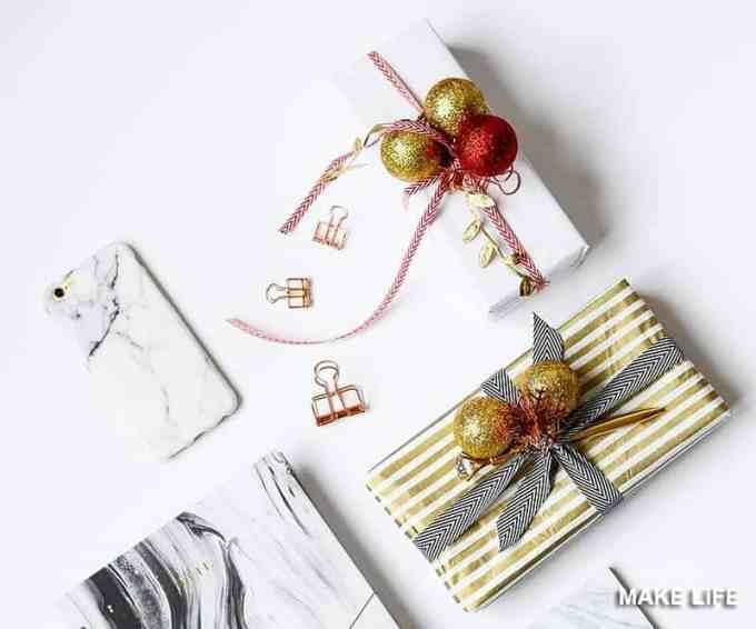 GIFT WRAP IDEAS 5 - Πως να τυλίξεις ένα δώρο. 6 τρόποι για το χριστουγεννιάτικο αμπαλάζ