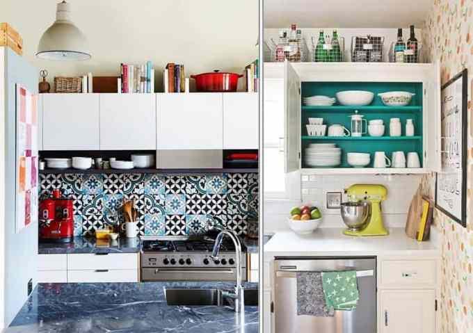Above Kitchen Cabinets Organizing tips - Πως να οργανώσεις την κουζίνα σου για να είναι πιο λειτουργική
