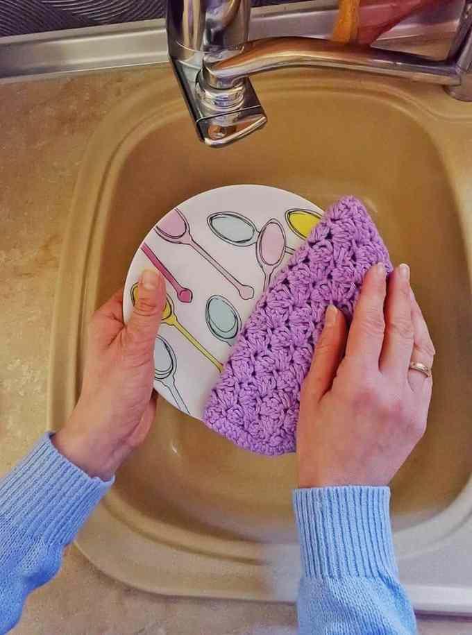 dish clothes - Χειροποίητα σφουγγαράκια κουζίνας & επαναχρησιμοποιούμενα πανάκια