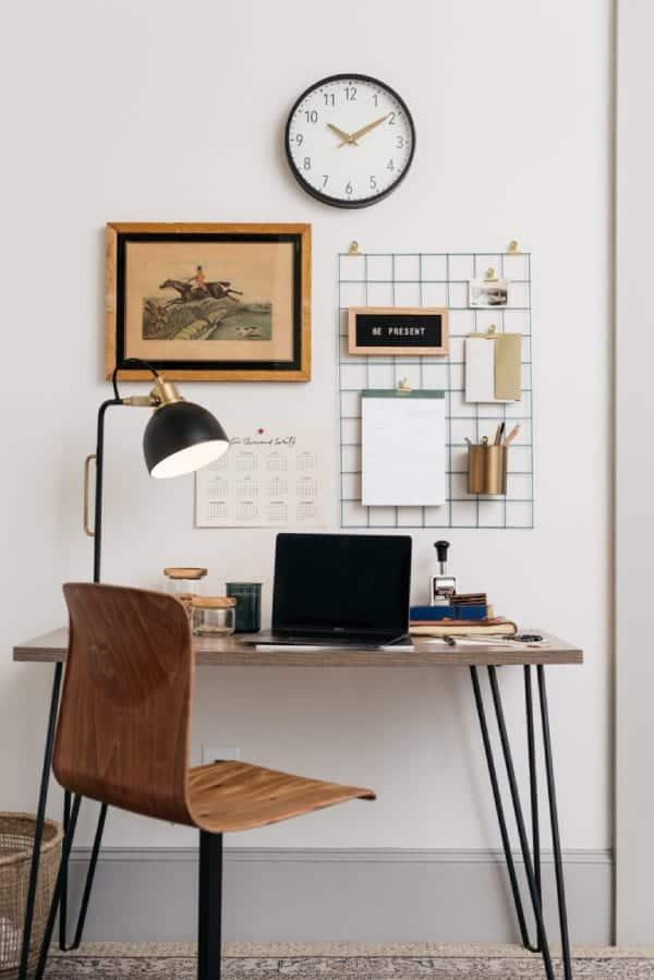 home office decoration 3 - Πως να δημιουργήσεις έναν εμπνευσμένο χώρο γραφείου στο σπίτι