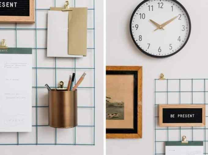 home office decoration collage2 - Πως να δημιουργήσεις έναν εμπνευσμένο χώρο γραφείου στο σπίτι