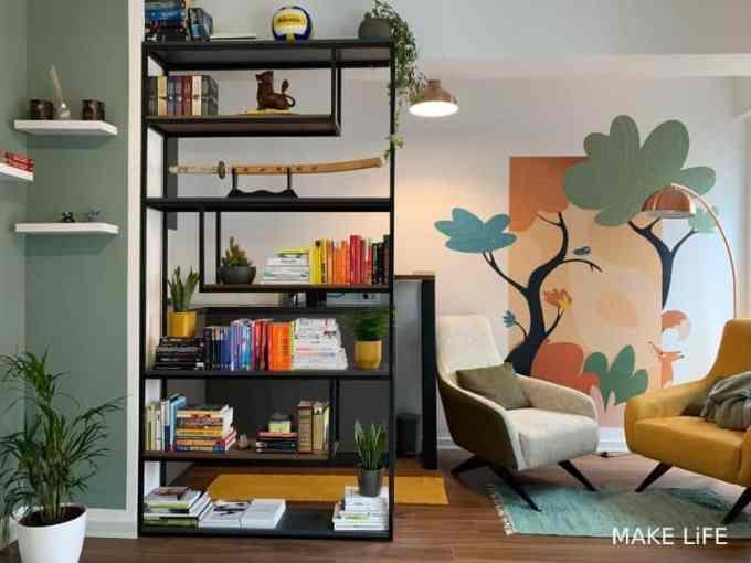 bookcases decoration - Ιδέες για αποθήκευση βιβλίων και πως να διακοσμήσεις τα ράφια σου