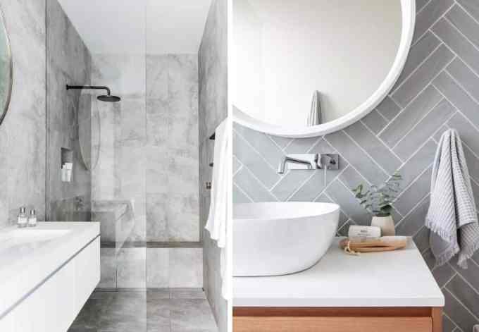 grey bathroom - Τα κυρίαρχα χρώματα για το μπάνιο. 5 ιδέες που θα λατρέψεις