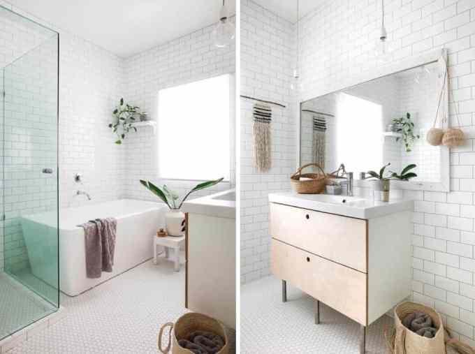 white bathroom 2 - Τα κυρίαρχα χρώματα για το μπάνιο. 5 ιδέες που θα λατρέψεις