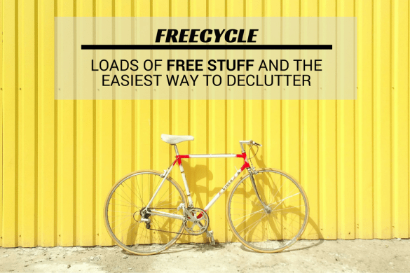 FreeCycle – Loads of FREE Stuff & the Easiest Way to Declutter