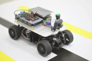 Беспилотный автомобиль 1:18 Makely CViC