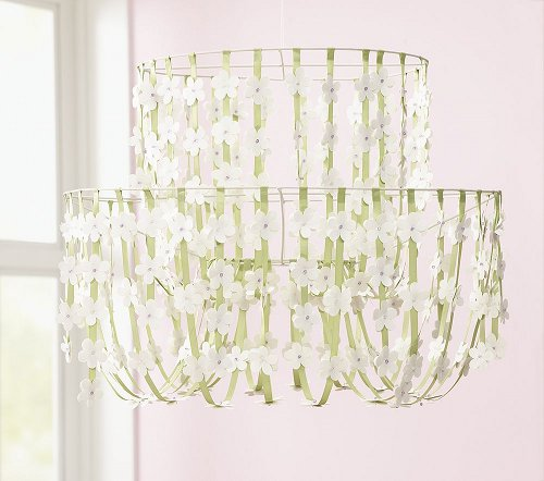 However Once I Decided On A Color Scheme For My Baby S Nursery Knew That This Particular Chandelier Wouldn T Work In The Room