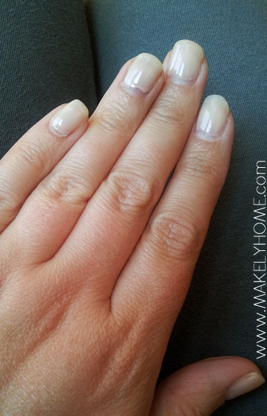 Long Grow Nails Natural