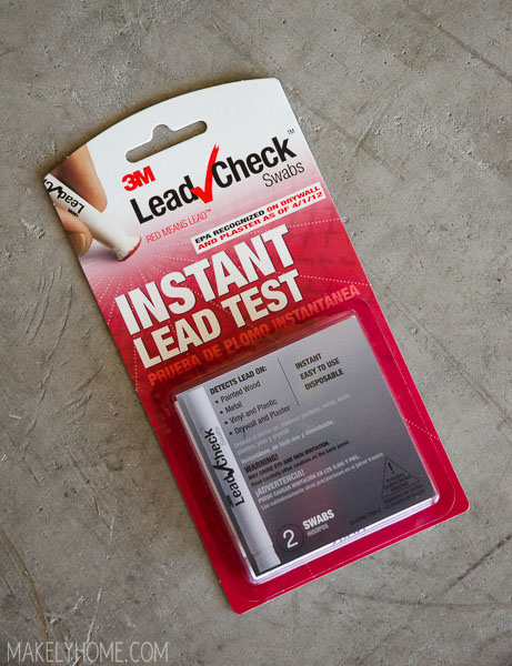 How To Test Vintage Furniture Or Most Anything Else For Dangerous Lead Based Paint