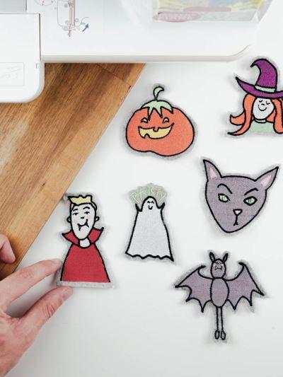 Halloween Stickdatei herunterladen