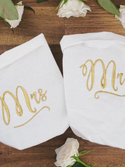 Stickdatei Hochzeit Mr Mrs