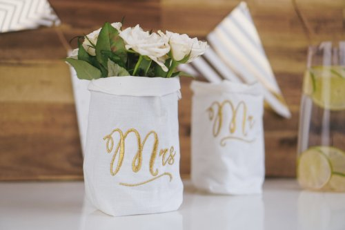 Stickdatei Hochzeit Mrs Mr