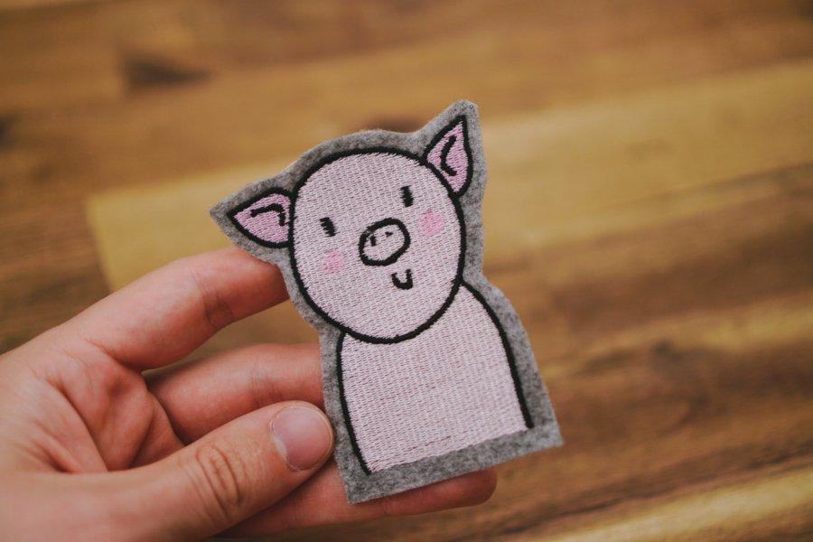 Stickdatei Schwein herunterladen