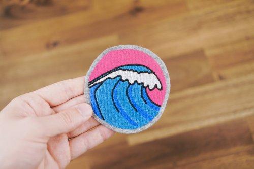 Wellen Stickdatei
