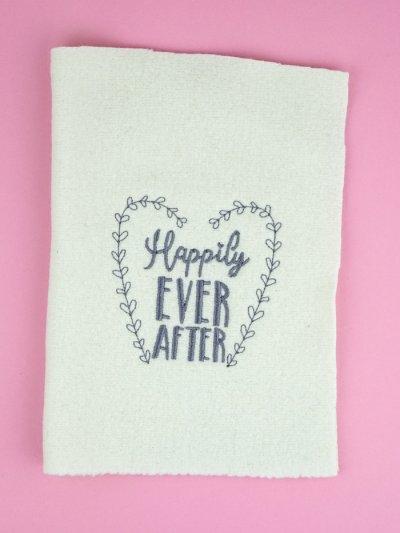 Stickdatei Hochzeit »Happily EVER AFTER«