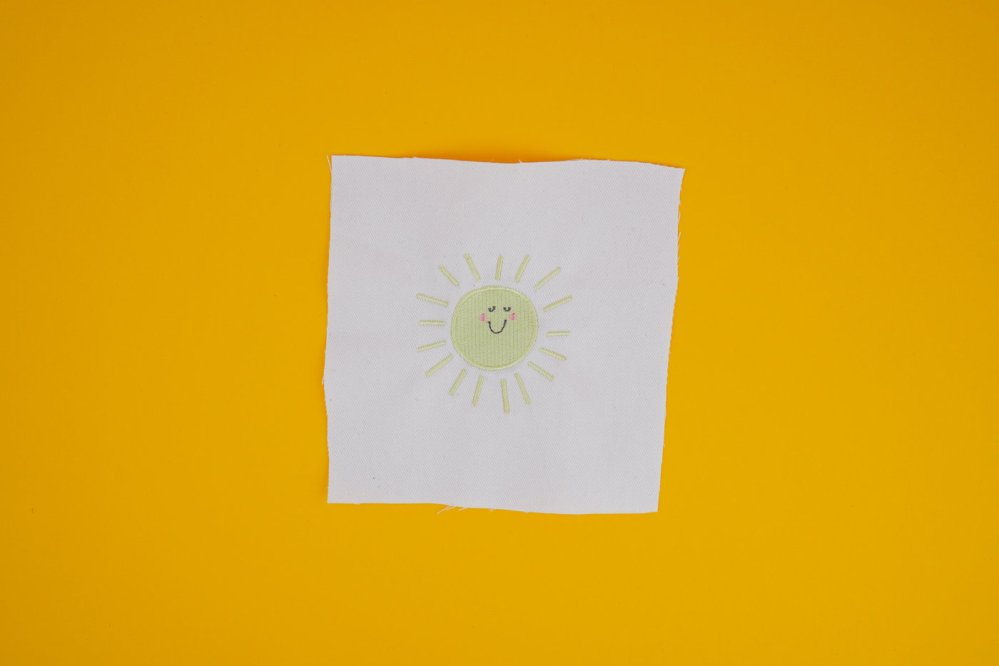 Stickdatei Sonne