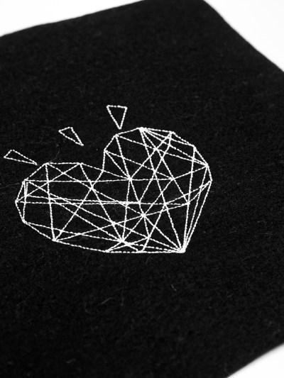 Stickdatei Polygon (Anwendungsbeispiel)