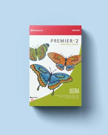 Sticksoftware Premier+™ ULTRA beinhaltet alle Funktionen zum Erstellen von Stickdateien
