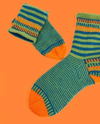 Strickanleitung für Socken: JanneSocks