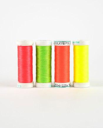 Stickgarn Neonfarben (Polyester)