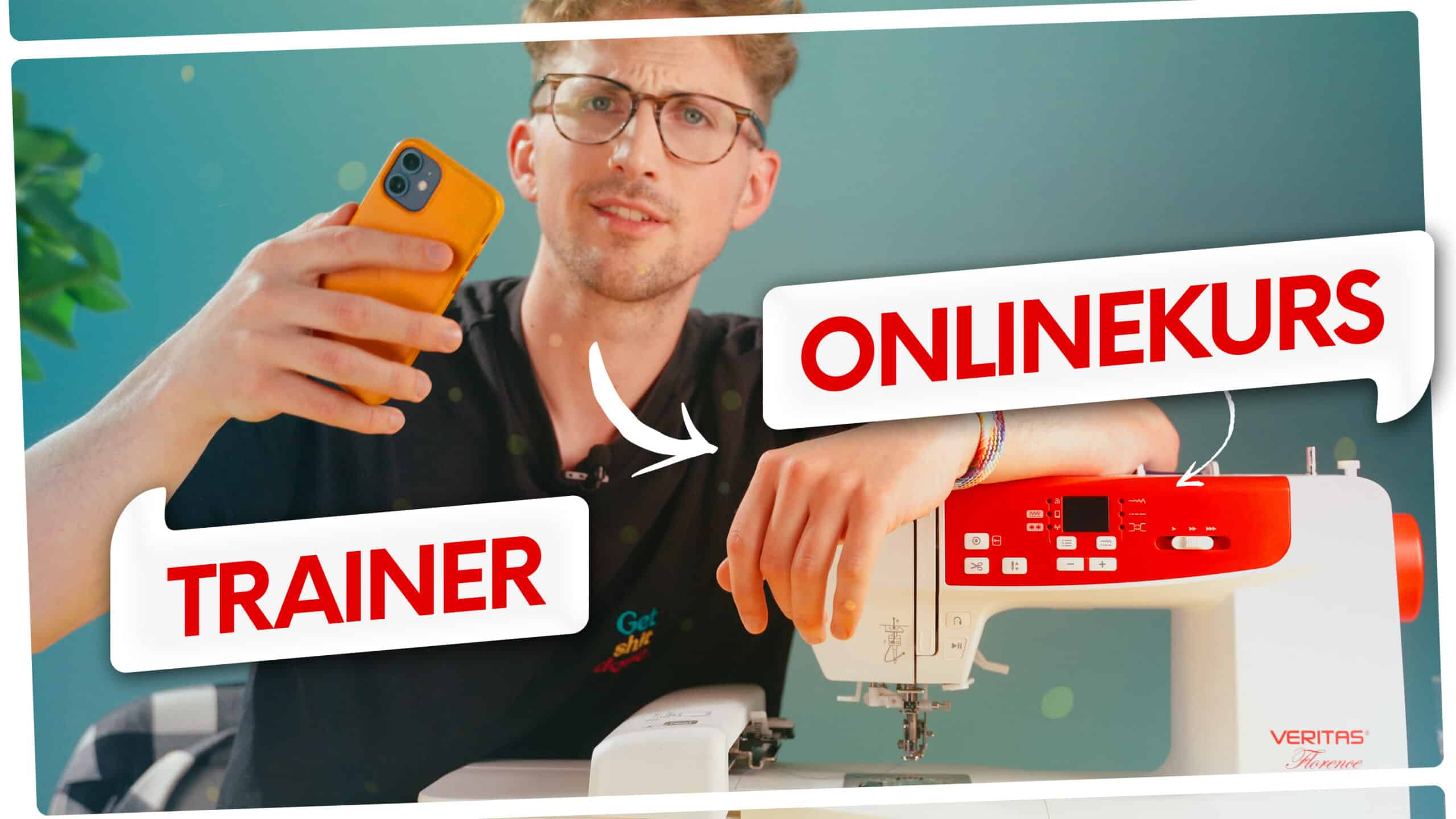 Onlinekurs für Näh- und Stickmaschine VERITAS Florence