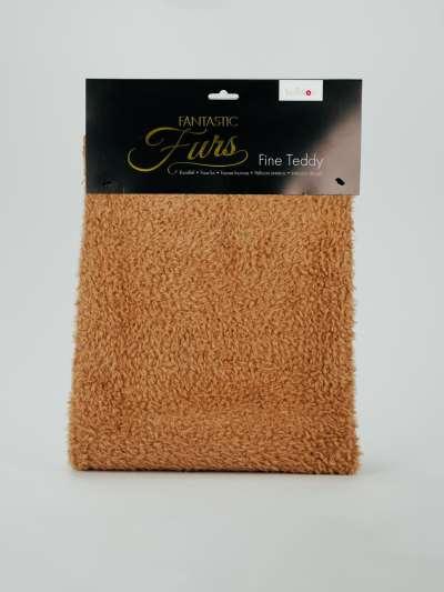 Kullaloo | Fantastic Fur | Fine Teddy | Teddystoff in Farbe braun