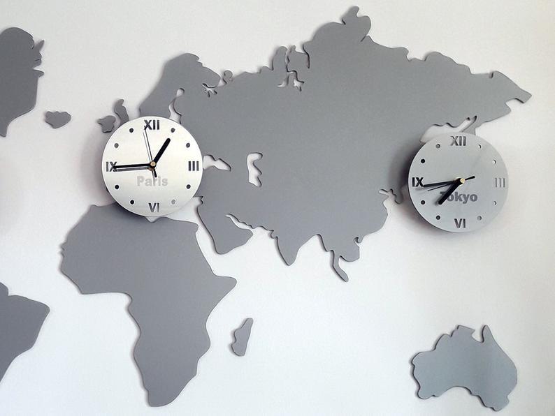 карта часовых поясов2